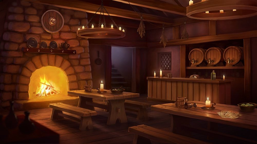 Tavern Inn Fantasy Inn Episode Interactive Backgrounds Tavern