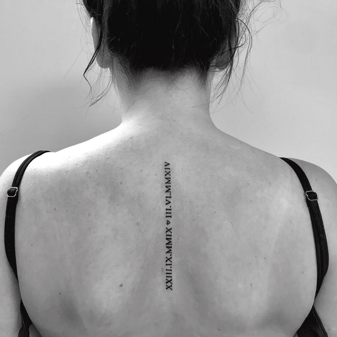 100+ Roman Numeral Tattoos That Will Mark Your Most Memorable Date