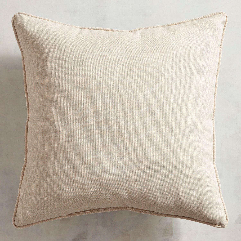Embroidered Pumpkins Blue Pillow