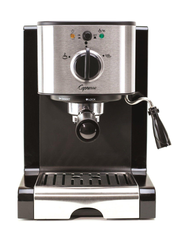 Capresso EC100 Pump Espresso and Cappuccino Machine * This