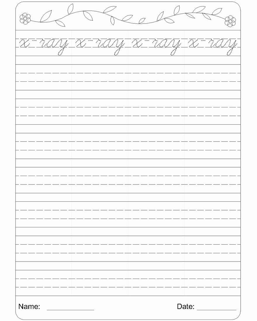 40 Cursive Writing Practice Pdf in 2020 Writing practice