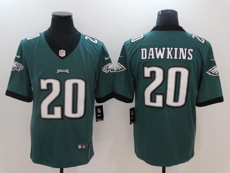 Men 20 Brian Dawkins Jersey Football Philadelphia Eagles Jersey ...
