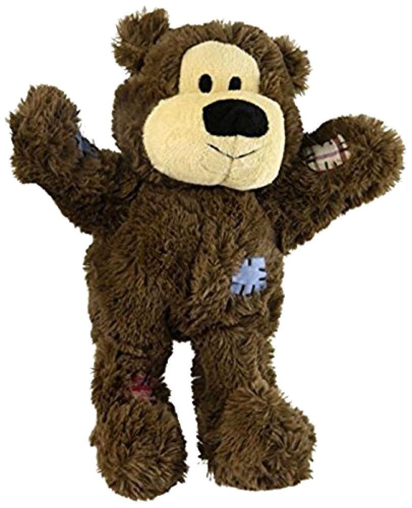 Kong Wild Knots Dog Squeaker Toy Large Kong Dog Toy Bear Dog Toy