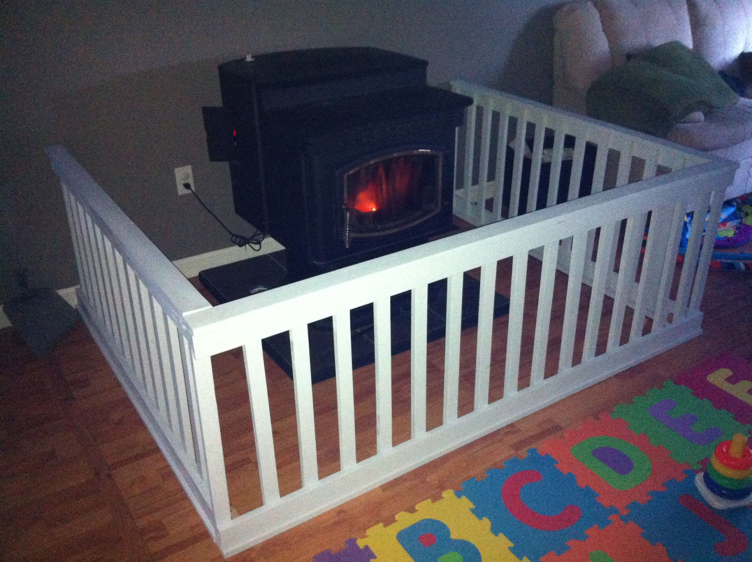 Pin By Dao Da Lao On Projects Pellet Stove Wood Baby Gate Fireplace Gate