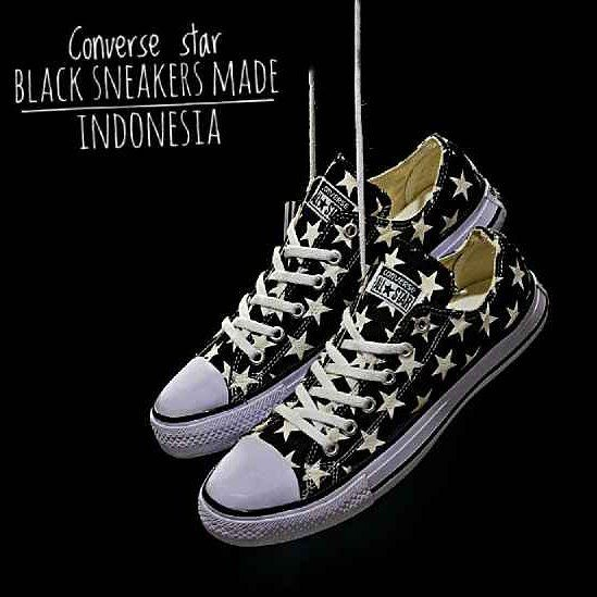 Dropsip N Reseller Welcome Adidas Converse Star Black Size Size