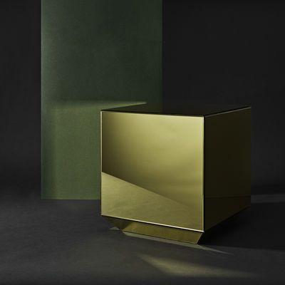 Table d'appoint Speculum / Miroir - 38 x 38 x H 40 cm - AYTM