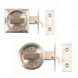 Sliding Pocket Door Bathroom Lock