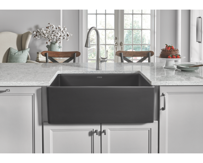 41++ Kohler strive self trimming single basin undermount farmhouse kitchen sink inspiration