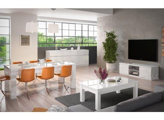 Woonkamer Fabrizi is een modern en strak vormgegeven set meubels ...