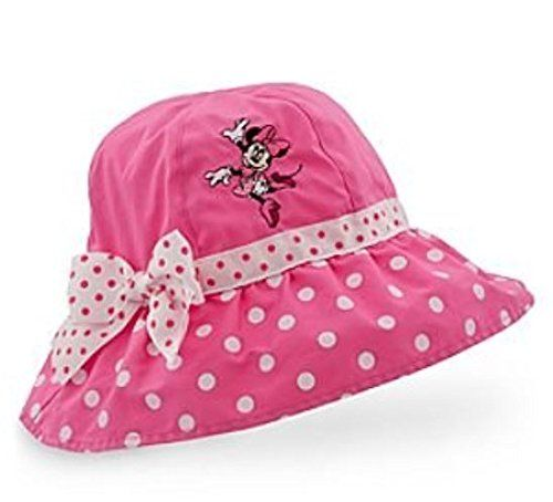 a0cfb8a975b11 Amazon.com   Minnie Mouse Girls Pink Polka Dot Sun Hat (Girls Large 5-7  years)   Baby