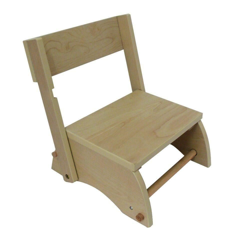 Best Teamson Kids Windsor Step Stool Small Natural Wooden 400 x 300