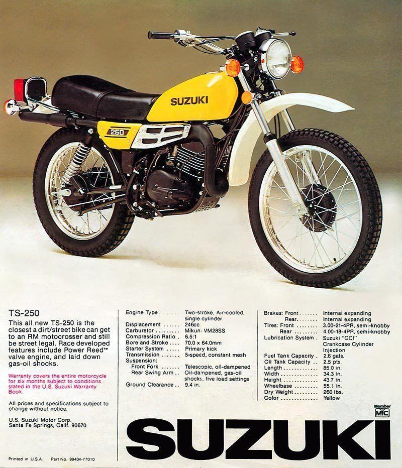 Suzuki 250 4 stroke weight