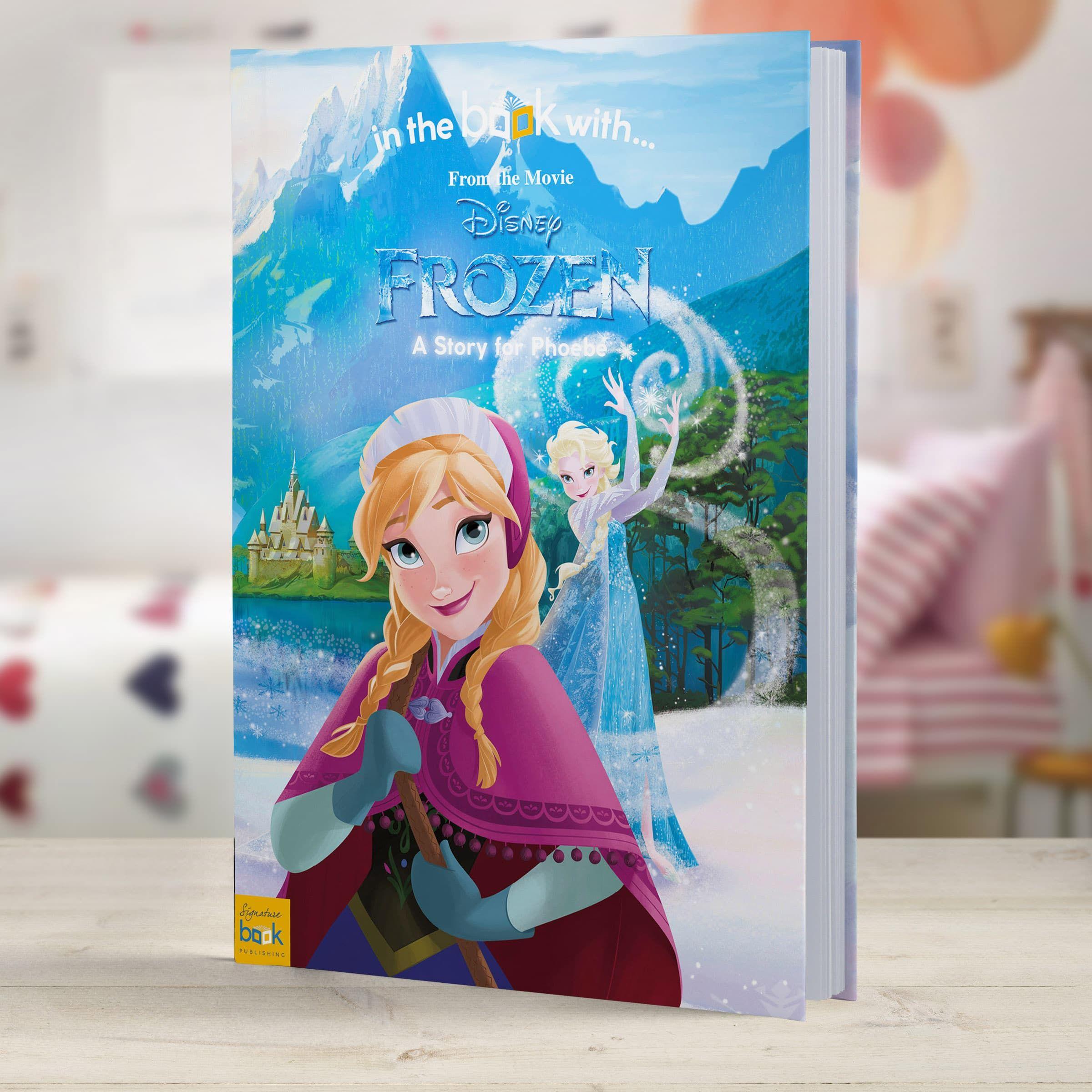 Personalized Disney Frozen Story Book