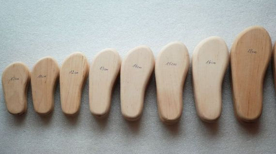 b8a740e84b75f Handmade wooden shoe lasts/ forms/ molds for forming felted slippers ...