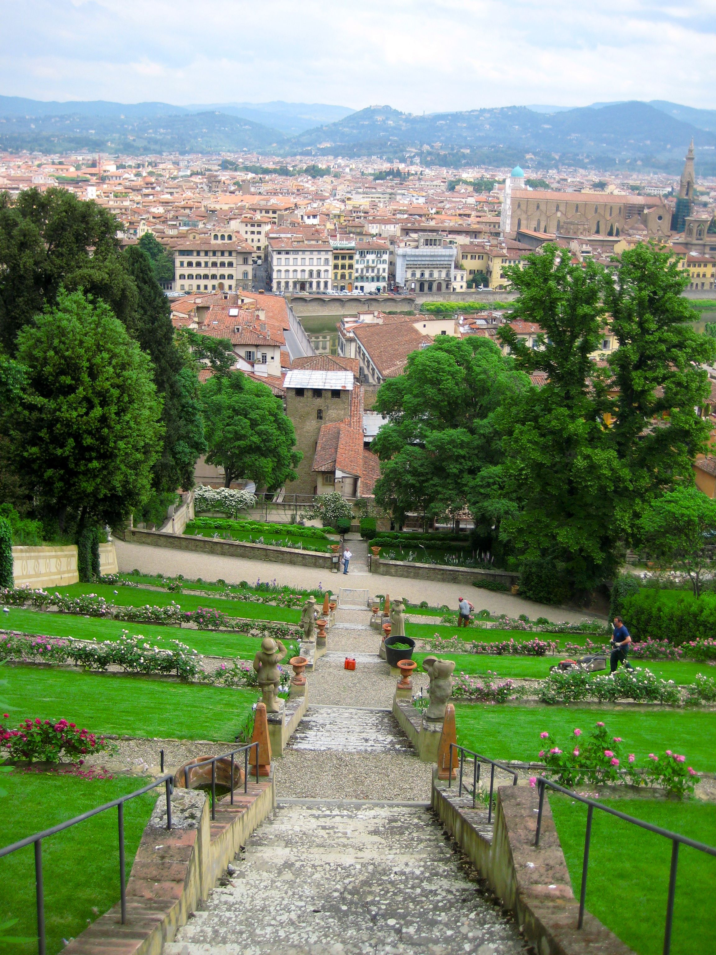 A Beautiful View Of Florence From The Steps In Boboli Gardens Italy Holidays Florence Tuscany Florence