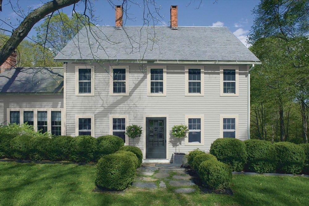 Exterior 1 Stonington Gray And Benjamin Moore