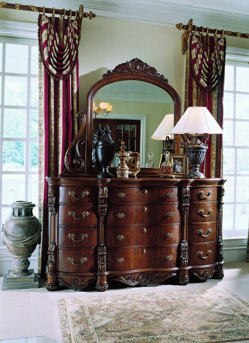 Pulaski Edwardian King Bedroom Set Pulaski furniture
