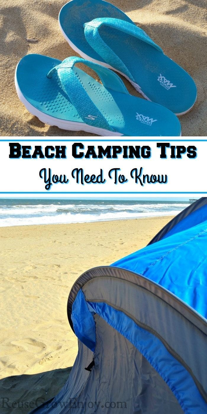 Photo of Beach Camping Tips You Need To Know Before You Go – Reuse Grow Enjoy