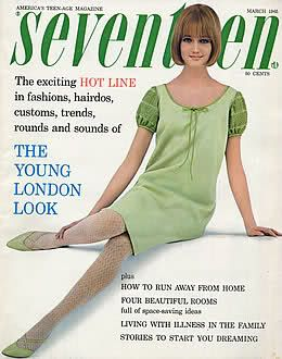 March 1965 cover with Sue Alwin
