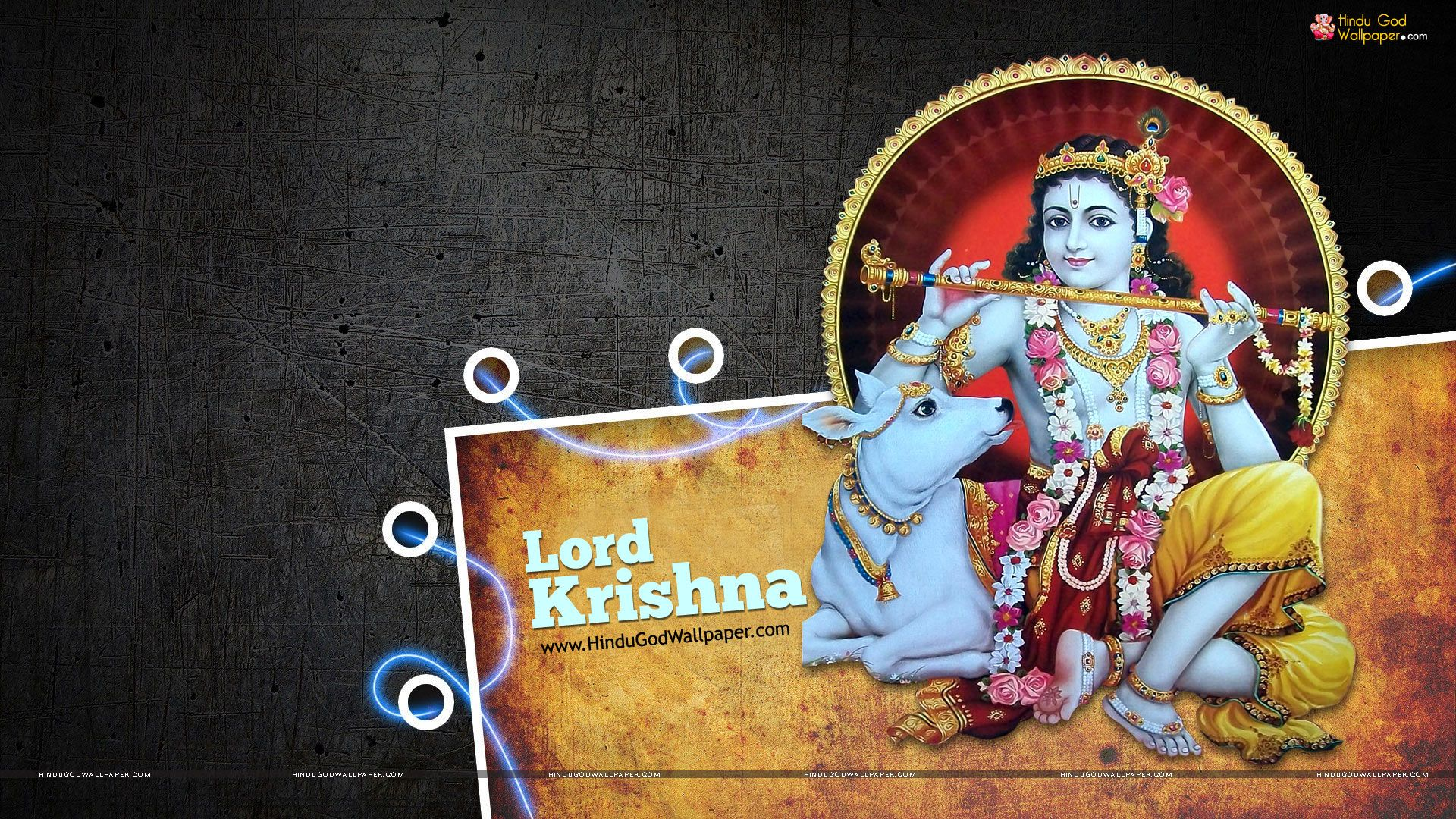 Hd wallpaper lord krishna - Lord Krishna Wallpaper 1080p Hd Full Size Download