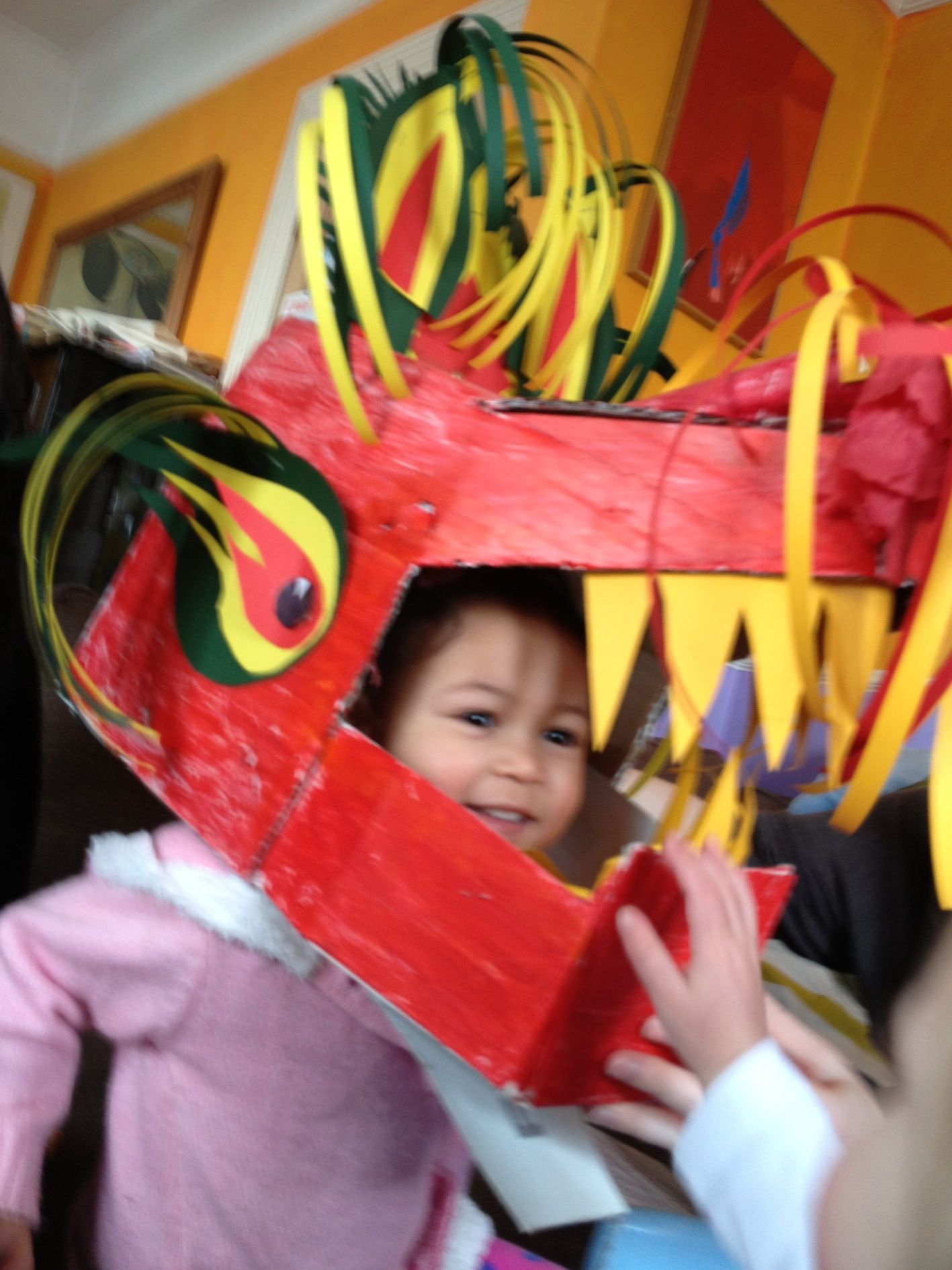 How To Make A Chinese Dragon Mask