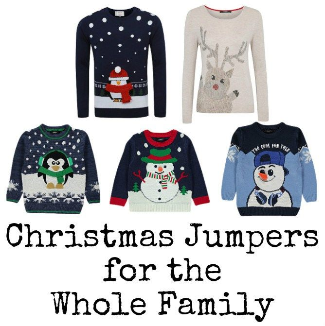 Christmas Jumpers from George at Asda for all the family Christmas - asda halloween decorations