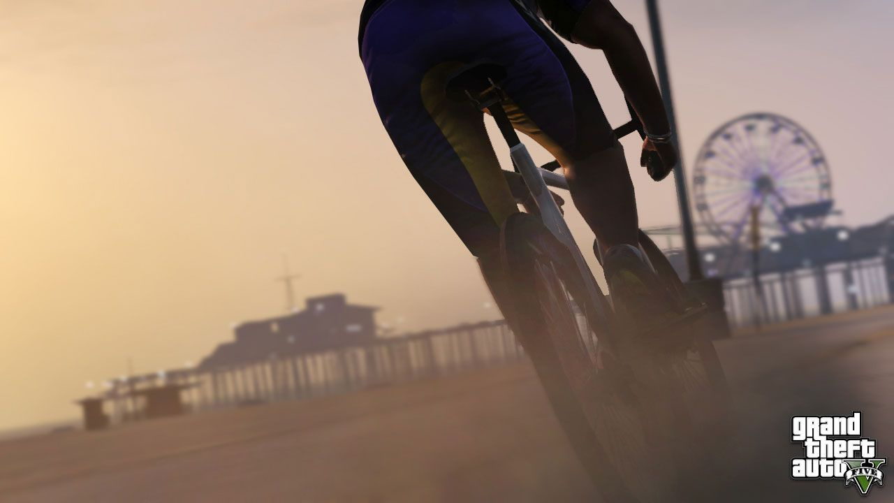 The Impossible Bicycle Gta 5 Screenshotified Grand Theft Auto