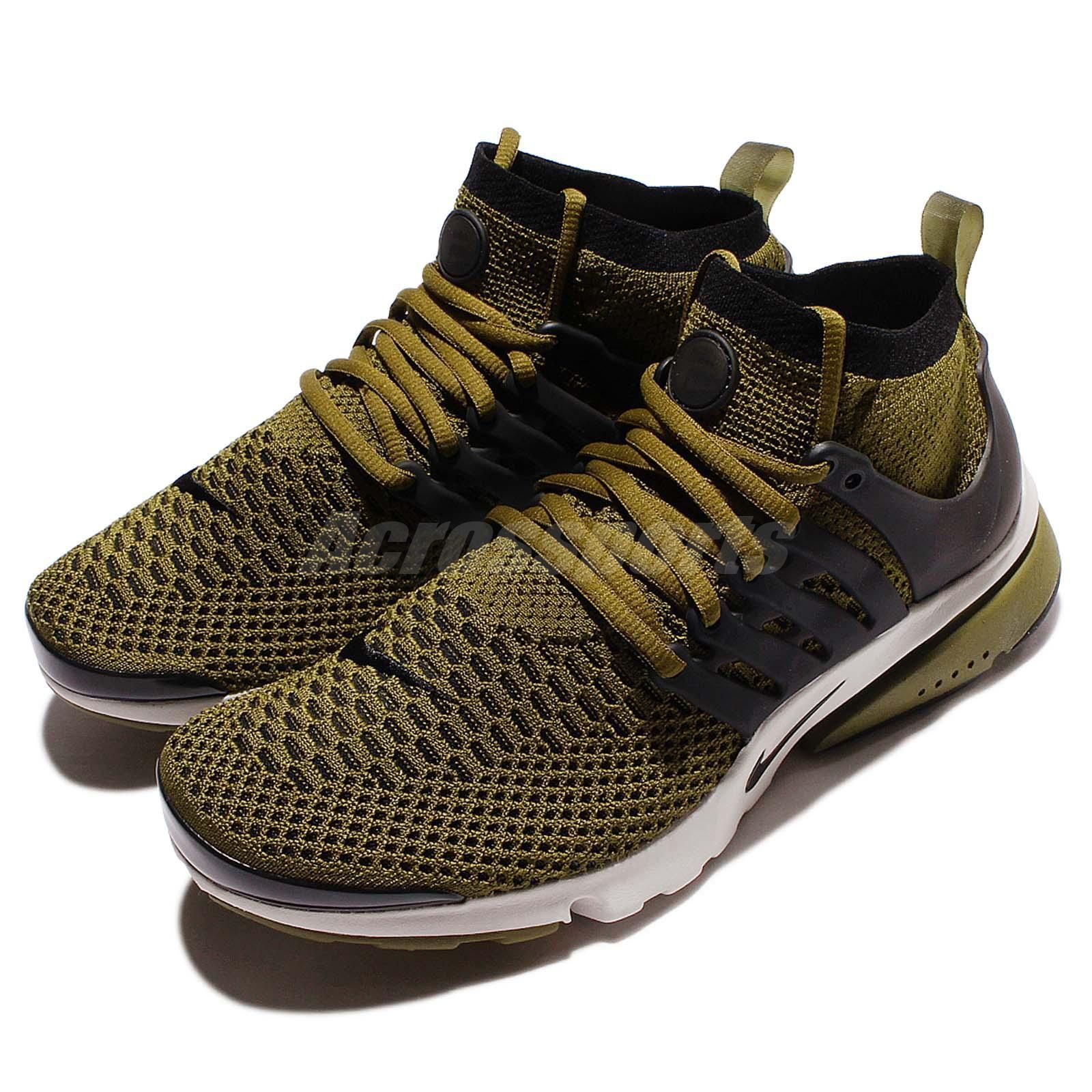 Nike Air Presto Flyknit Ultra Olive Flak Undefeated Green