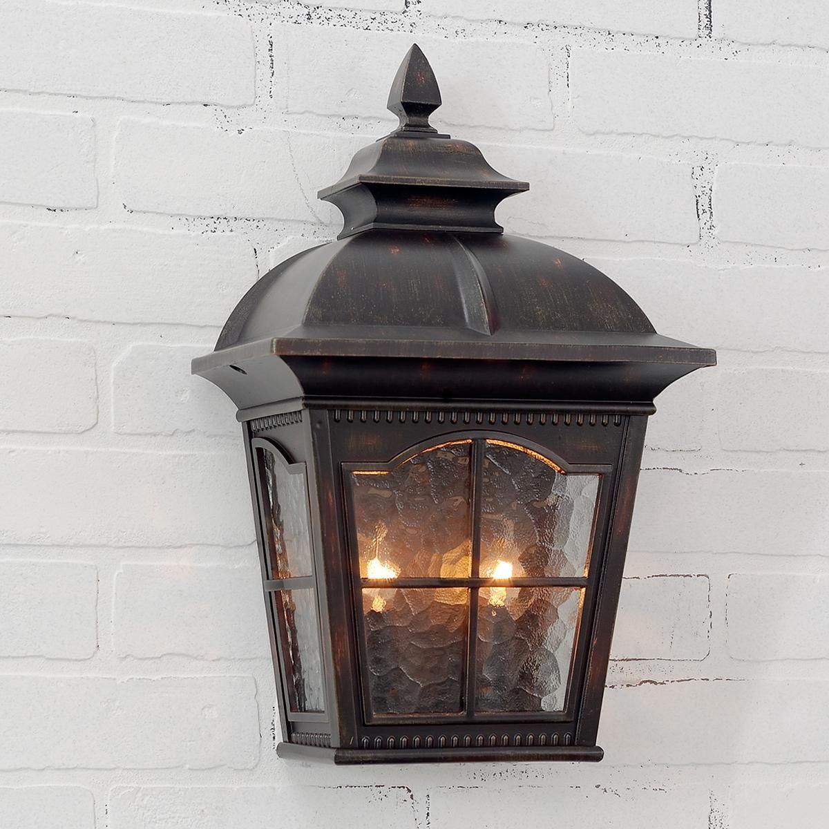 Tudor Revival Pocket Outdoor Light Deck Lighting...shades