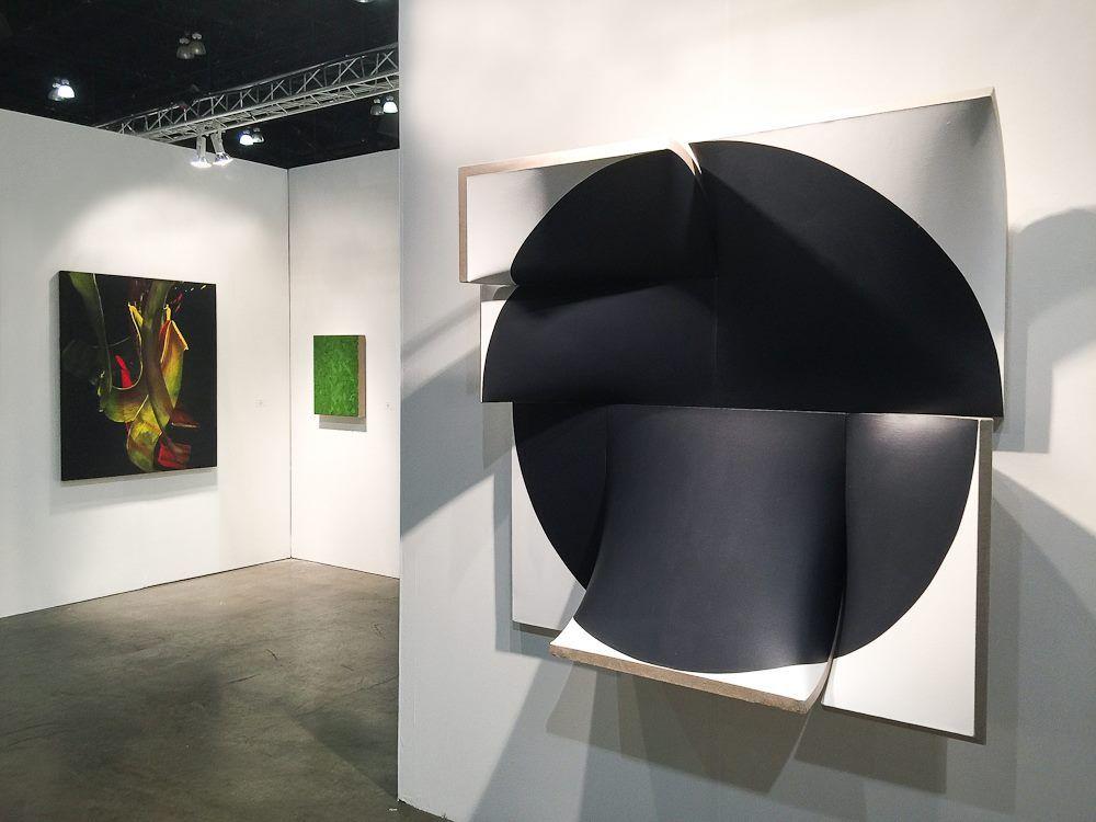 PETER BLAKE GALLERY LOS ANGELES ART SHOW 2015