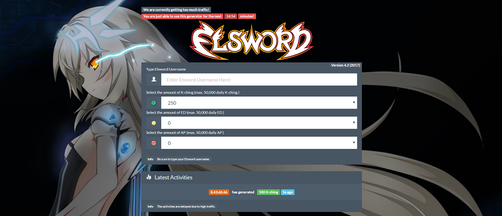 Elsword Hack 2017 online Generator available now! Get Free K