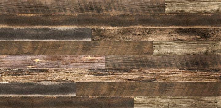 Reclaimed Wood Plank Textured Slatwall - Reclaimed Wood Plank Textured Slatwall Textured 3D Slatwall