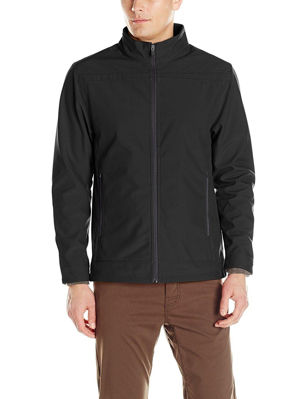 Men's Mock Antero Softshell Jacket Black C2120ZHUHAB