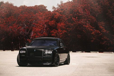 Photo of Rolls Royce Ghost – ADV5.2 Track Spec CS Concave Wheels