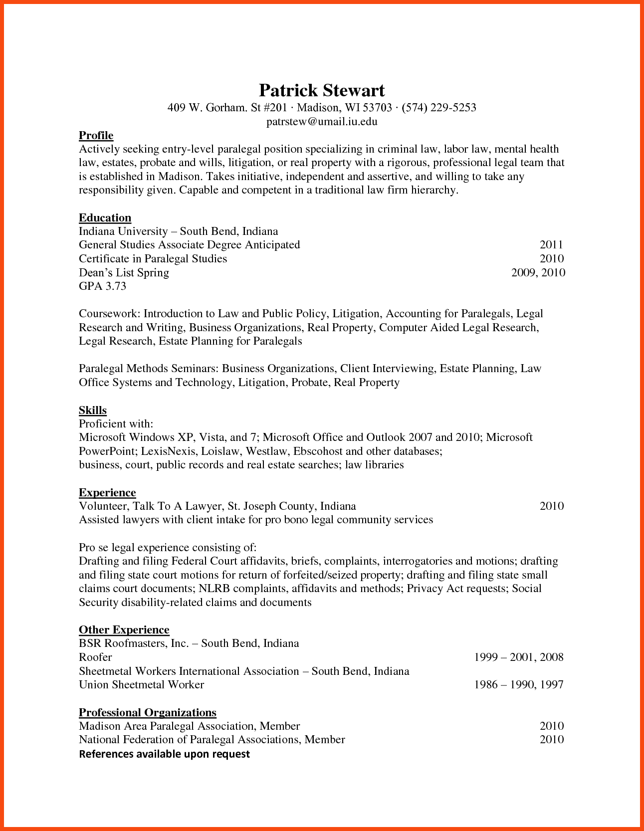 Cfo Executive Resume Example Top Ceo Company Sample Chief Officer