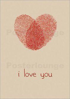 Torsten Stolze Fingerabdrucke Herz Logo Geschenke Muttertag