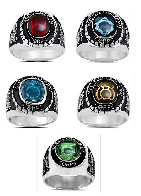 Green Lantern Power Ring Colors And Meanings