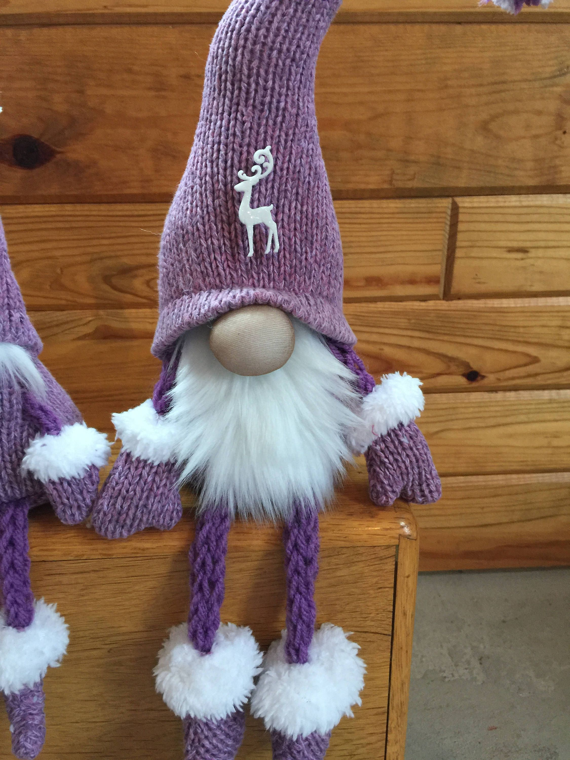 Gnome Family Hand knitting, Etsy, Knitted