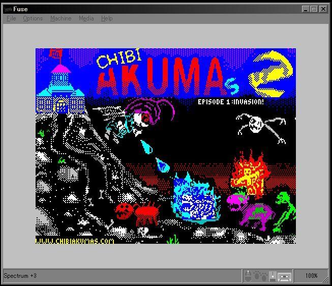 Chibi Akumas ZX spectrum loading screen WIP! #chibiakumas #chibi #akuma #retrogames #retrogaming #gothic #zxspectrum #8bit #チビ悪魔 #ちび悪魔