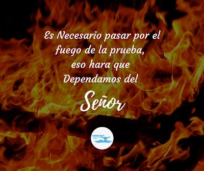 Es Necesario Pasar Por El Fuego De La Prueba Imagenes Para Estados Tarjetitas Cristianas Frases Cristianas