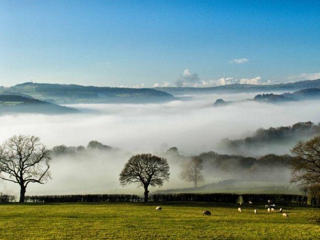 cloud inversion in the derwent valley by John Peat. #Readerphotooftheweek