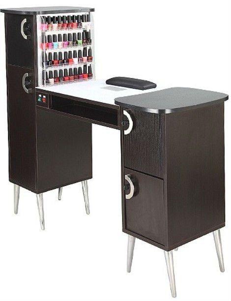 Mesa de Manicure  centro  Salon de uas Decoracin para