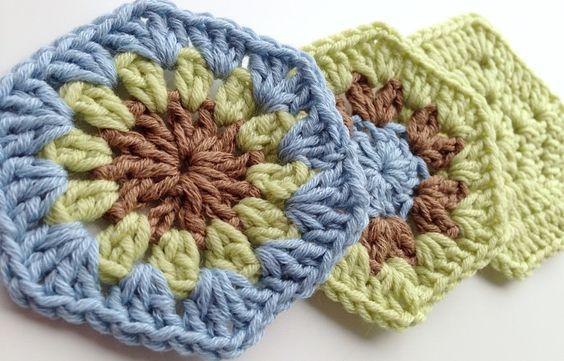 3 Free, Easy-Peasy Crochet Hexagon Patterns