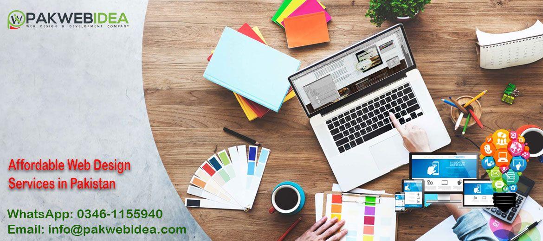 Affordable Web Design Services In Pakistan In 2020 Website Design Company Web Development Design Fun Website Design