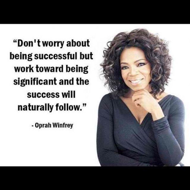 Oprah Winfrey New Year Quotes: Success Inspirational