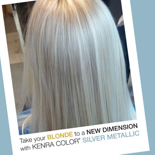 Discover Kenra Color Metallic Hair Kenra Color Metallic Hair Color