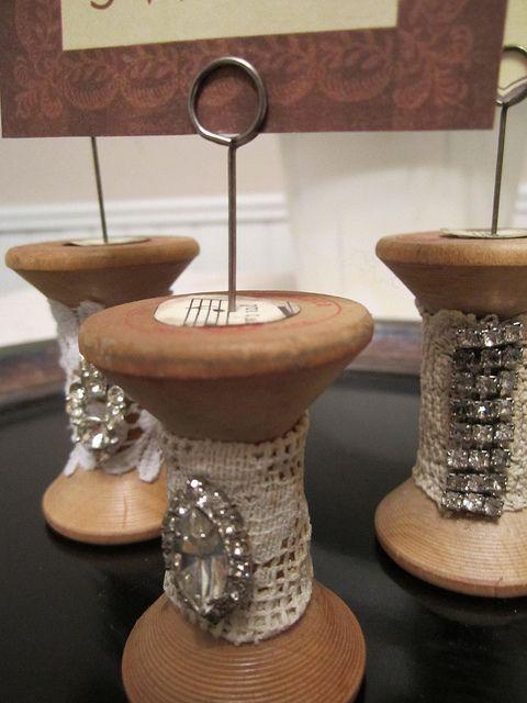 Wire Wooden Spool Ideas