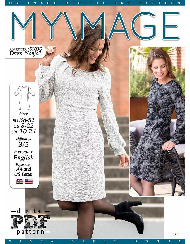 Free pattern - S1036 Dress \
