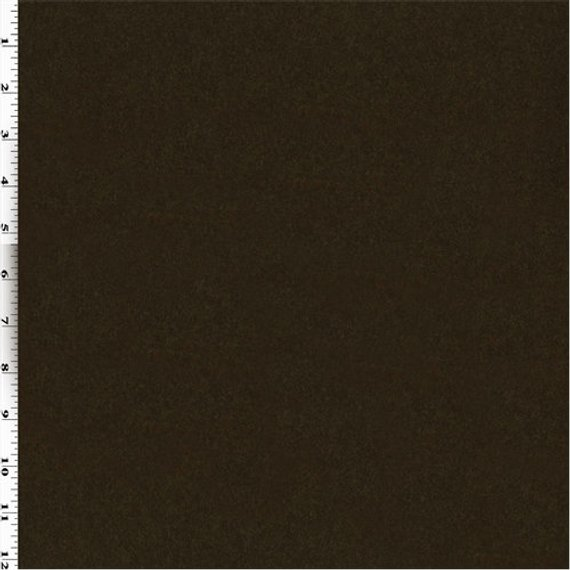 Brown Wool Brushed Melton Fabric By The Yard Sliding Door Blinds Diy Blinds