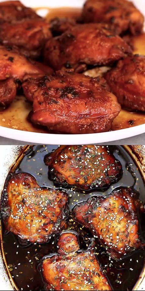 Crock Pot Honey Garlic Chicken Recipe | Super Easy